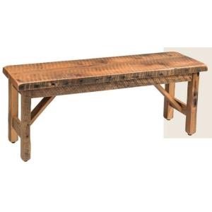 "Reclaimed Barnwood 48"" Bench"