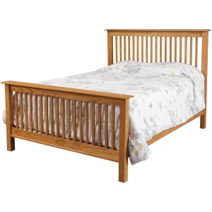 Simplicity Queen Bed w/ Std. Height Footboard