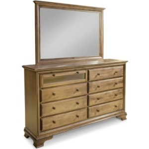 Classic 8-Drawer Double Dresser w/Media Drawer