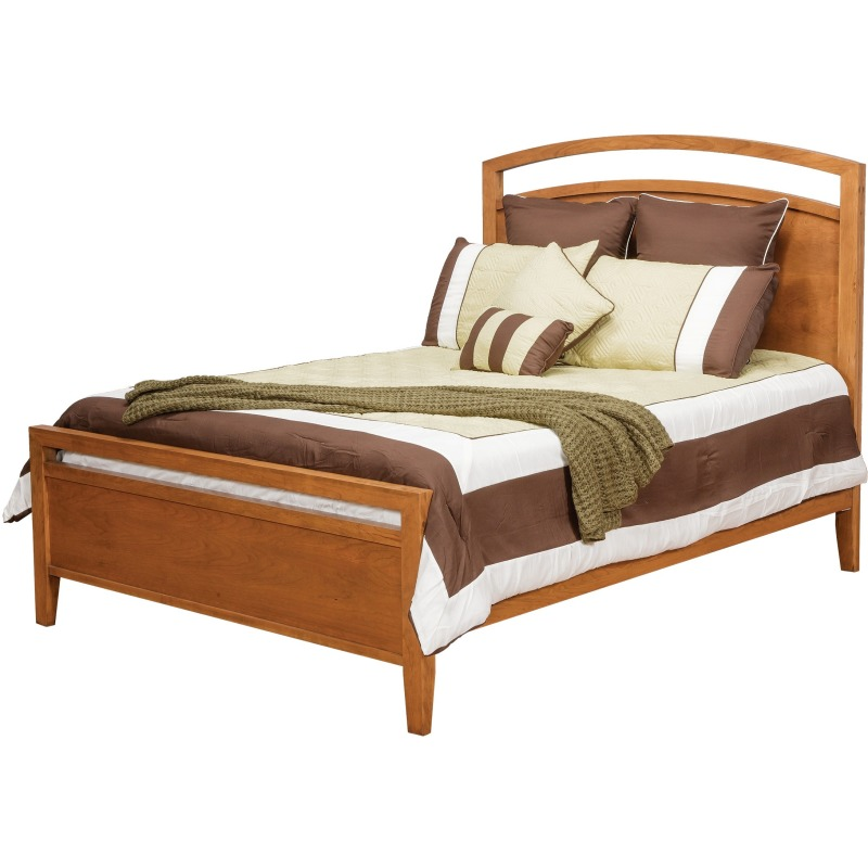 Nouveau Queen Bed w/ Low Footboard