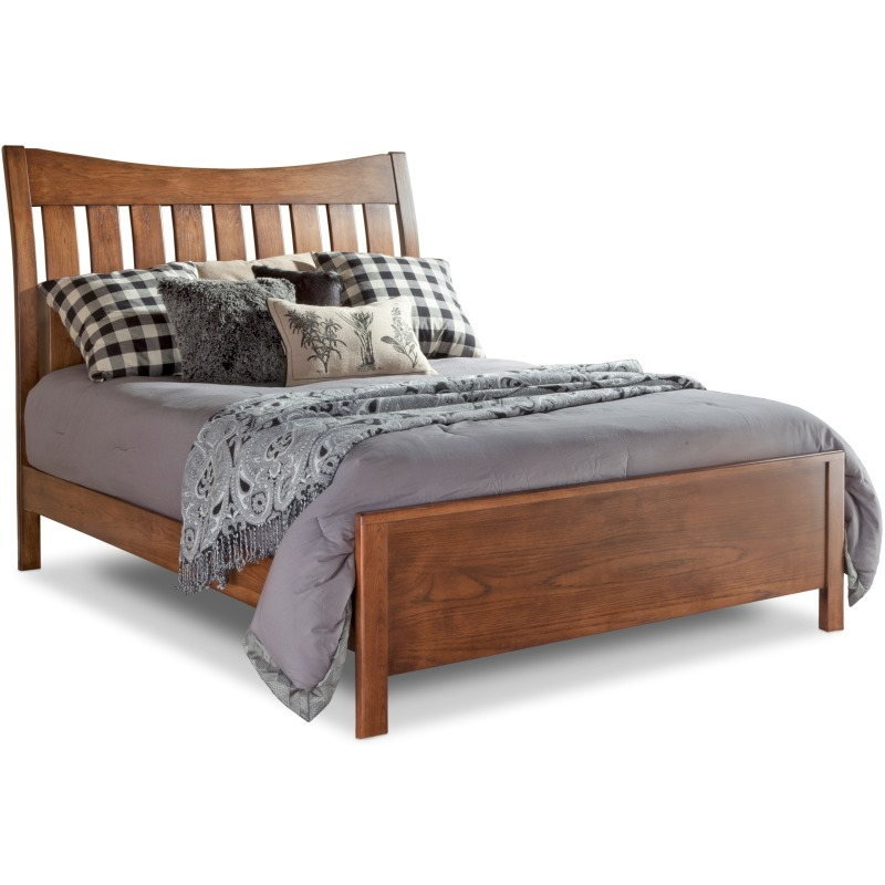 Bedfort Queen Bed w/ Low Footboard