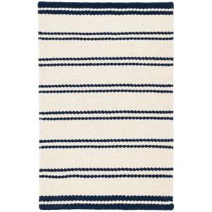 Fiarbank Stripe Woven Wool Rug