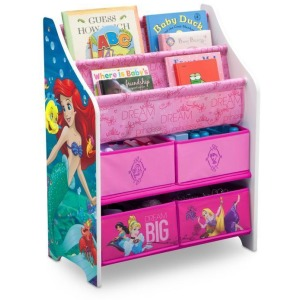 Princess Book & Toy Organizer