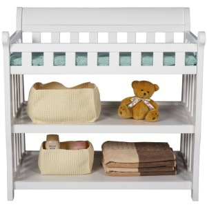 Eclipse Changing Table - White