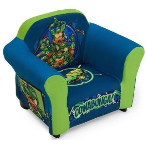Nickelodeon Teenage Mutant Ninja Turtles Upholstered Chair (with Sculpted Plastic Frame)