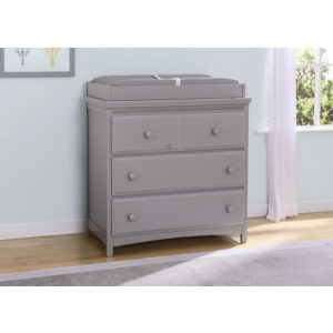 Emerson 3 Drawer Dresser with Changing Top