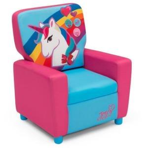 JoJo Siwa Kids High Back Upholstered Chair