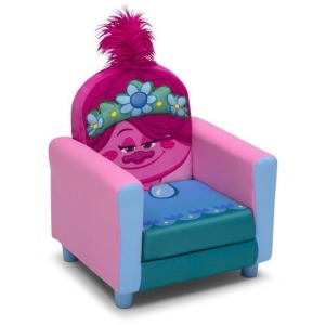 Trolls World Tour Poppy Figural Upholstered Kids Chair