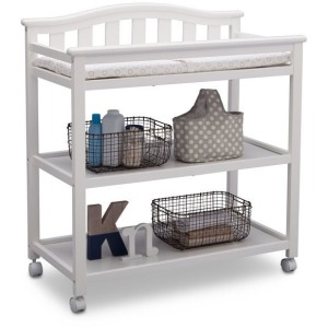 Independence Changing Table - Bianca White