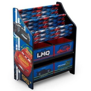 Cars Book and Toy Organizer
