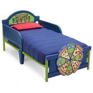 Teenage Mutant Ninja Turtles Plastic 3D Toddler Bed