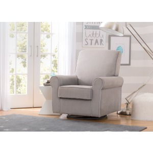 Rowen Upholstered Glider - Dove Grey