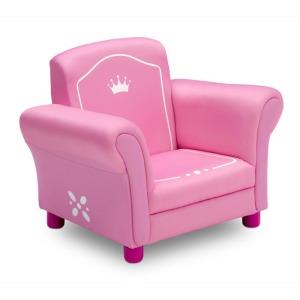Princess Crown Kids Upholstered Chair