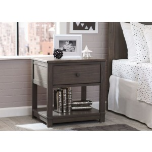 Langston Nightstand with Drawer and Shelf