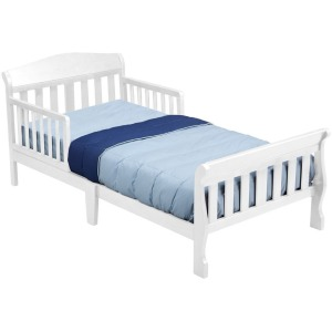 Canton Toddler Bed - White