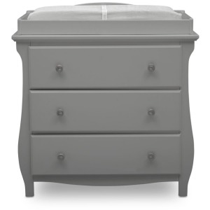 Lancaster 3 Drawer Dresser with Changing Top