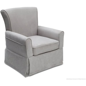 Benbridge Upholstered Glider - Dove Grey