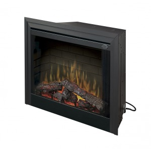 Deluxe Built-in Electric Firebox - 33""