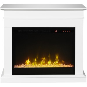 "Jasmine Mantel with 23"" Electric Fireplace"
