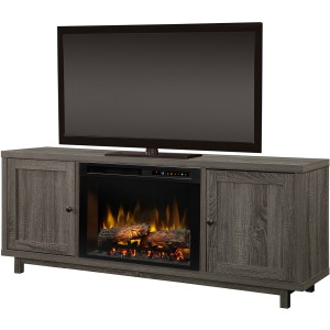Jesse Television Stand Electric Fireplace