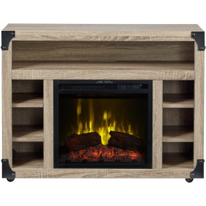 """Chelsea TV Stand with 18"""" Electric Fireplace"""