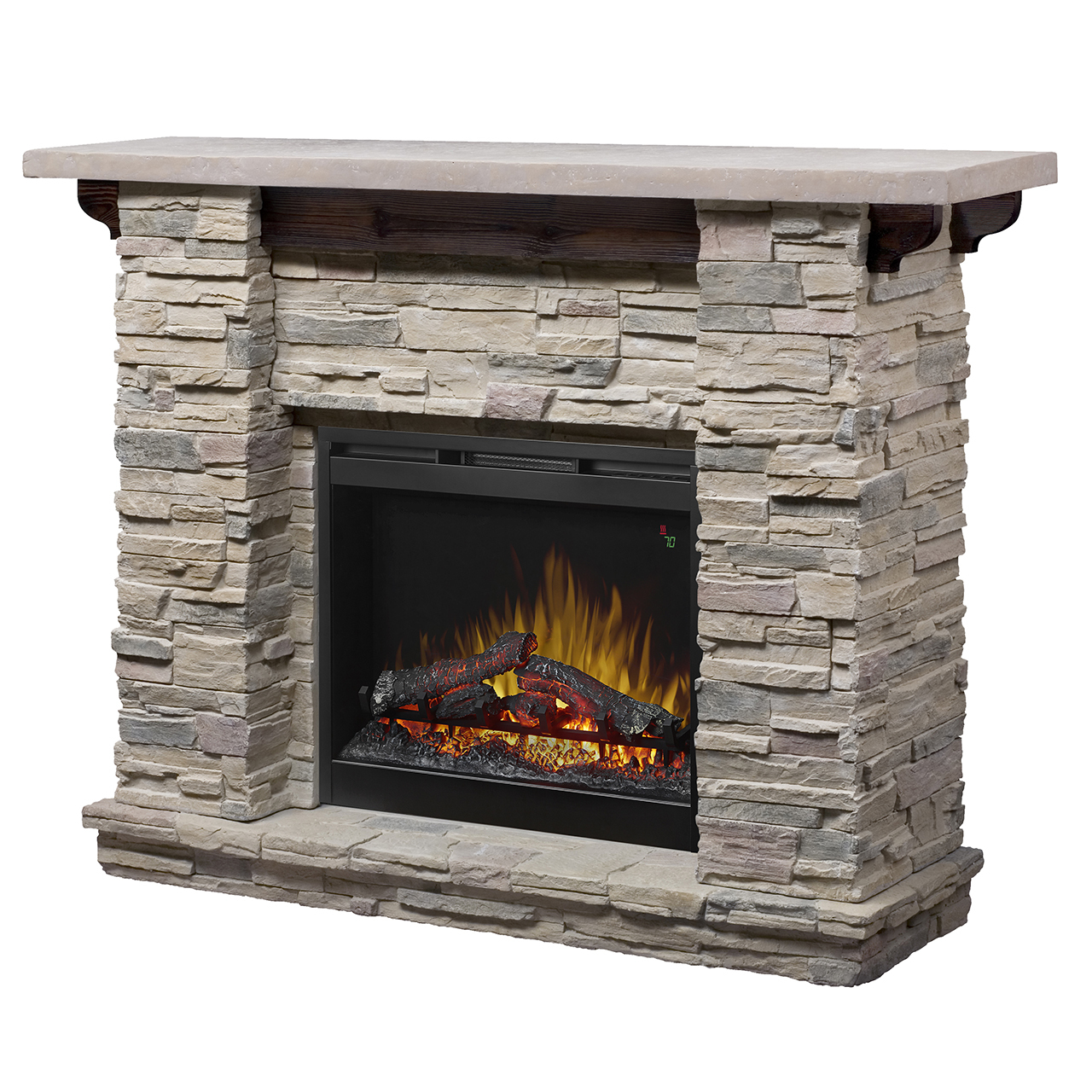 Featherston Mantel Electric Fireplace By Dimplex 65291 Callan Furniture