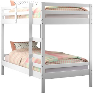 Twin/Twin Bellaire Bunk Bed - White