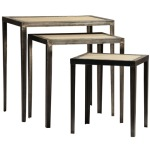DILLARD NEST OF TABLES SET OF 3