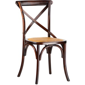 Gaston Chair - Set of 6 - Brown