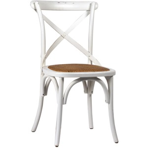 Gaston Dining Chair - Antique White