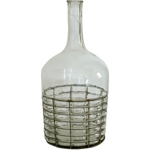 Glass Decorative Bottle / Vase