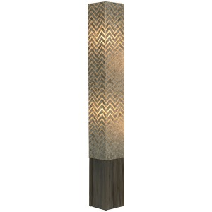 "Steelix Standing Lamp 65"" High"