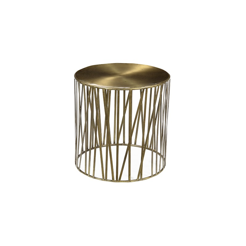 MURRAY SIDETABLE BRASS