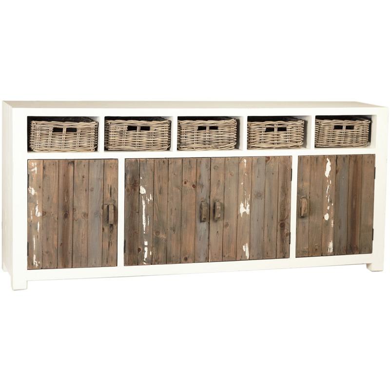Barkley Sideboard By Dovetail Furniture Dov7522 Willis Furniture