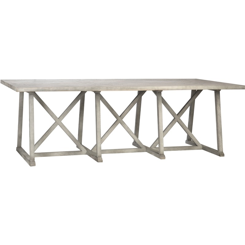 Clancy Dining Table By Dovetail Furniture Dov18059