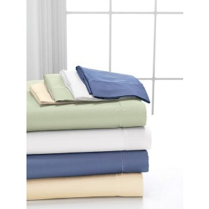 Degree 2 Fine Combed Cotton Queen Sheet Set - White