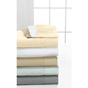 Degree 6 MicroTencel/Supima Cotton Queen Sheet Set - Ivory