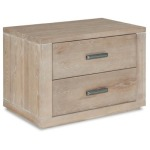2 Drawer Nightstand - King & Main