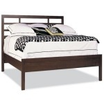 Asian Bed W/panel Footboard