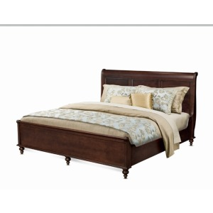 Sleigh Bed W/low Ftbd