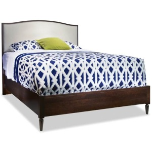 Upholstered Arch Top Bed