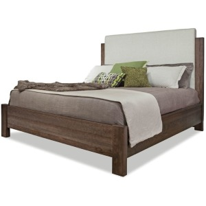 Queen Upholstered Bed - King & Main