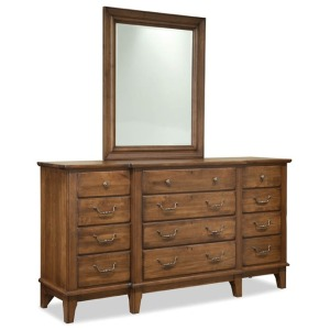 Breakfront Dresser - Rustic Civility Collection