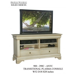 Solid Choices Program Collection Transitional Plasma Console