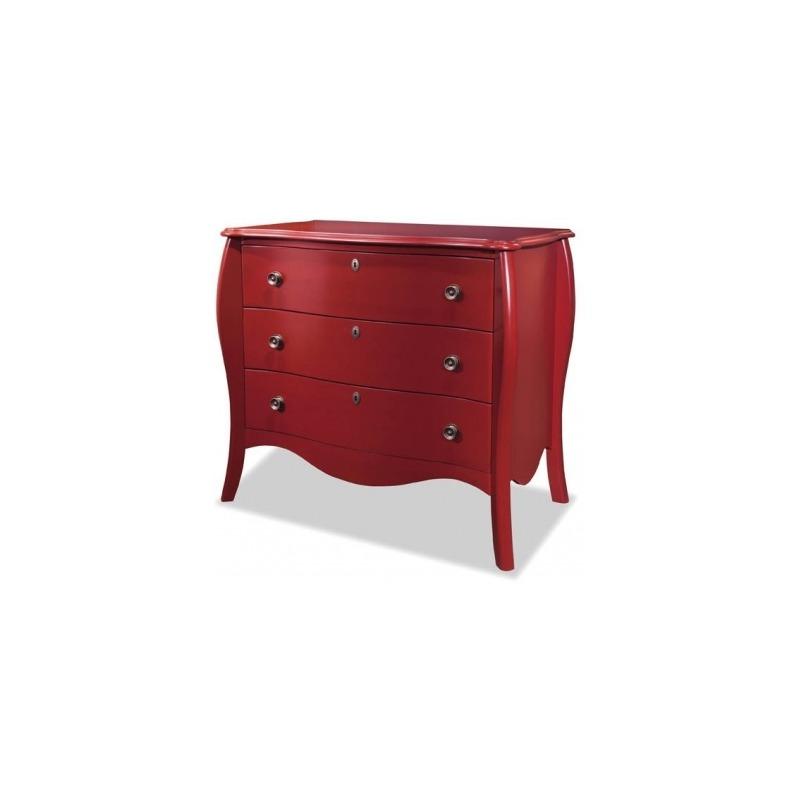 5132 Serpentine Single Dresser