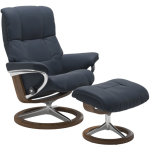 Mayfair Large Signature Chair w/Footstool