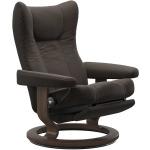 Wing Medium Classic Power leg & back - Chestnut & Walnut