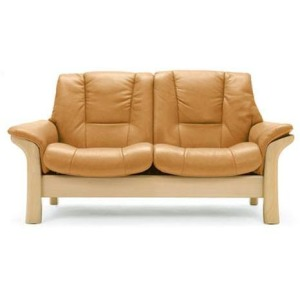 Stressless Buckingham Low Back 2 Seater Large