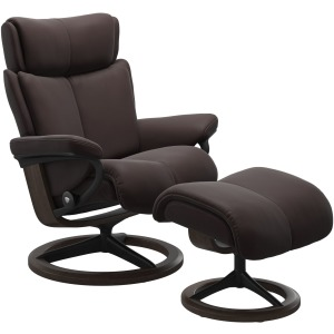 Magic (M) Signature chair with footstool