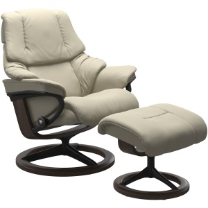 Reno (L) Signature chair with footstool